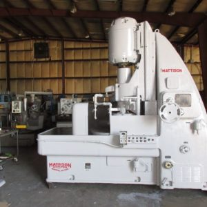 Used Mattison Rotary Surface Grinder