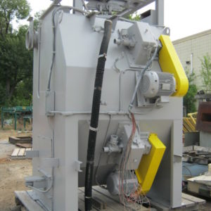 Used Ervin Industries Shot Blast / Peening Machine