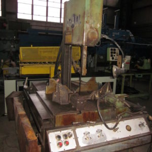 Used DoAll Model TF-1421H Vertical Band Saw