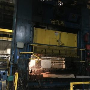 USED Verson S2-600-120-72 SSDC Mechanical Press
