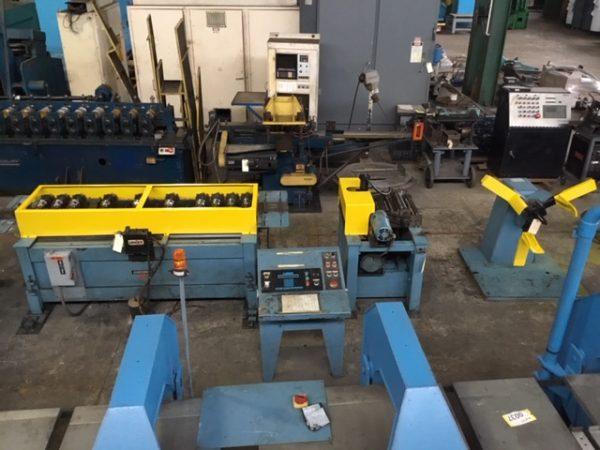 Used Lockformer 14 Stand Roll Form Line