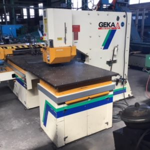Used Geka 110 Ton CNC Punch