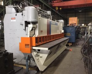 Used Pacific 300G16 Hydraulic Plate Shear