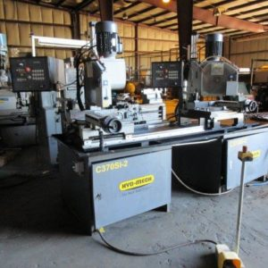 Used Hyd-Mech 2 Head Semi-Automatic Cold Saw