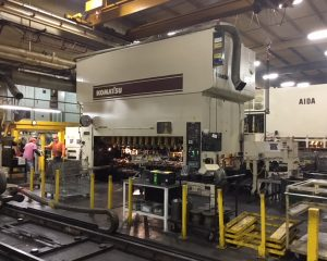 Komatsu E2T-500 SSDC Mechanical Transfer Press