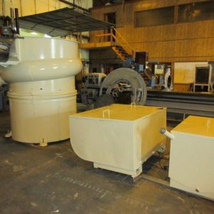 Used Walther Trowal Circular Vibrator Finishing Mill