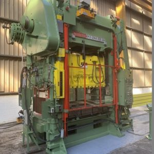 Used Niagara BP2-200 Ton Straight Side Double Crank Press