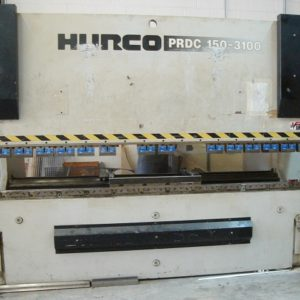 Used Hurco-Beyeler 165 Ton x 10' Hydraulic Press Brake
