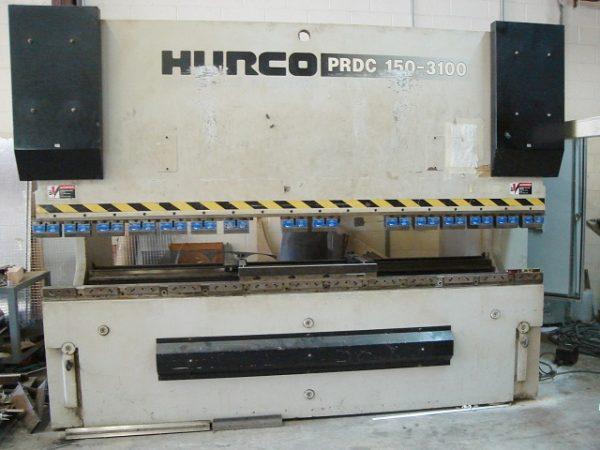 Used Hurco-Beyeler 165 Ton x 10' Hydraulic Press Brake
