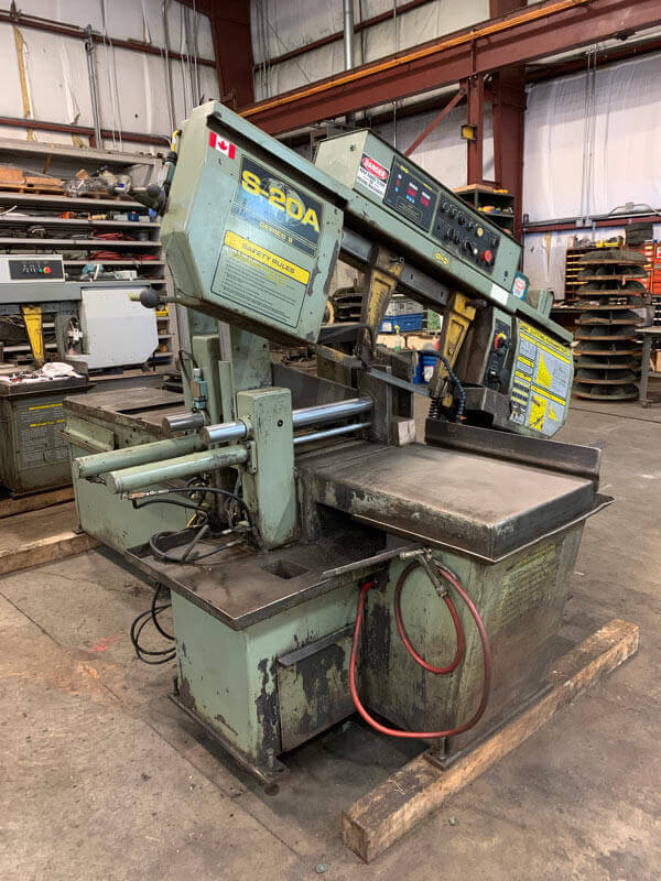 Hyd-Mech S-20A Series II Horizontal Band Saw