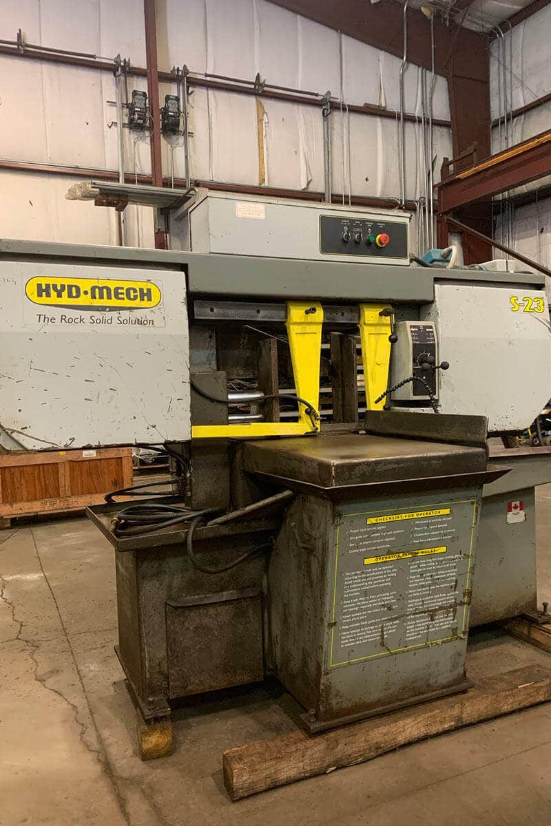 Hyd-Mech S-23H Horizontal Band Saw
